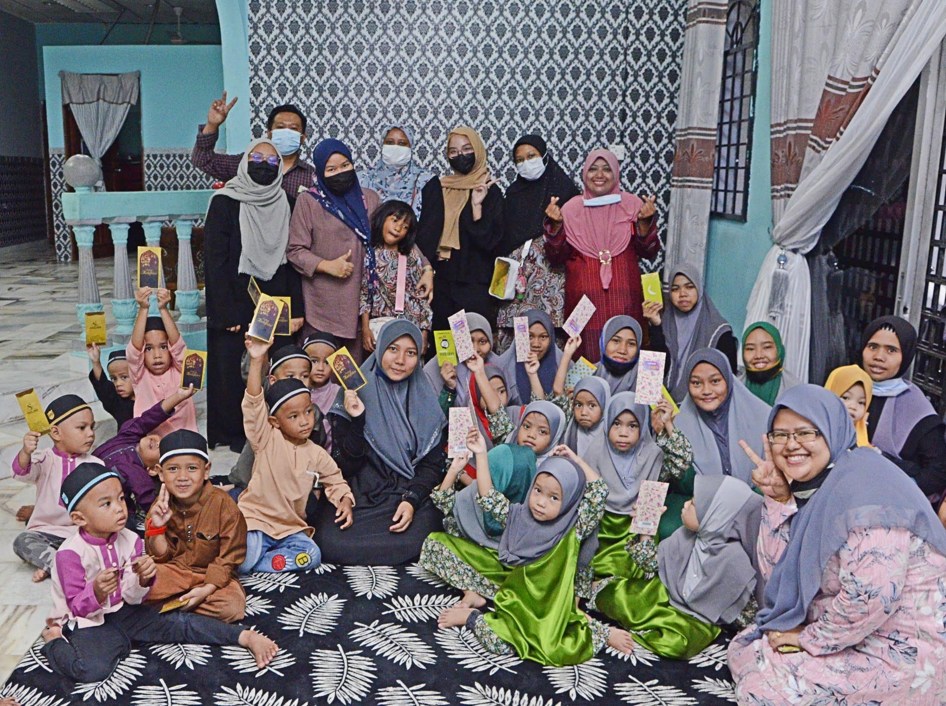 BGST Meraikan Ramadhan Bersama Anak Yatim -Curahan Kasih Sayang